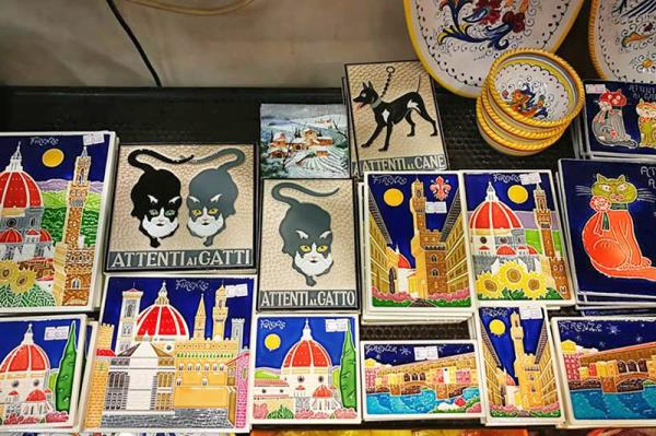 artistic ceramics furnishings Florence