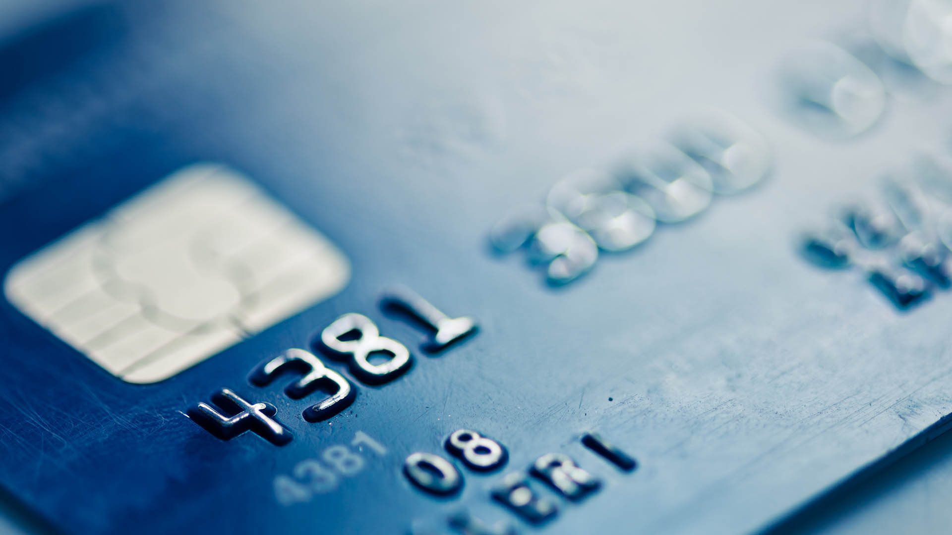 Carta di credito personalizzata