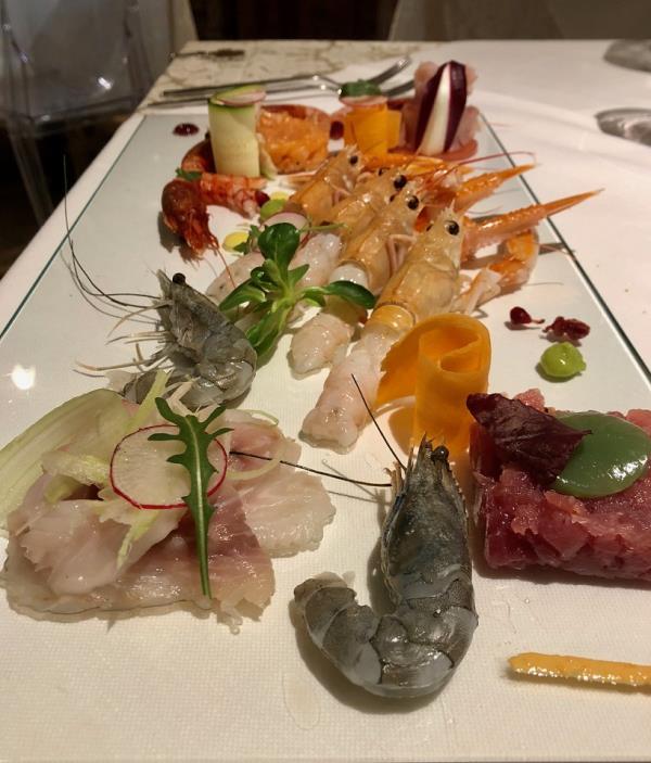ristorante con cucina di pesce Sacile Pordenone