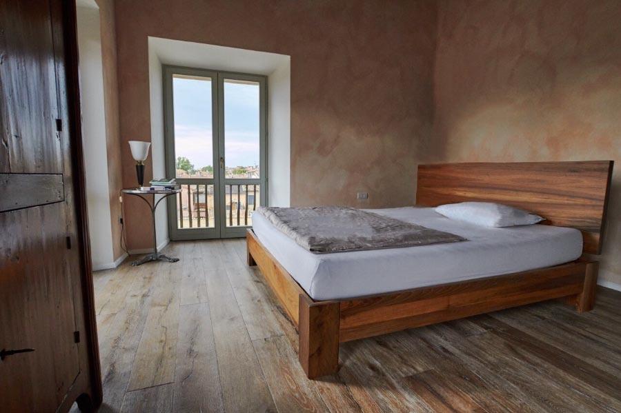 letto legno massello