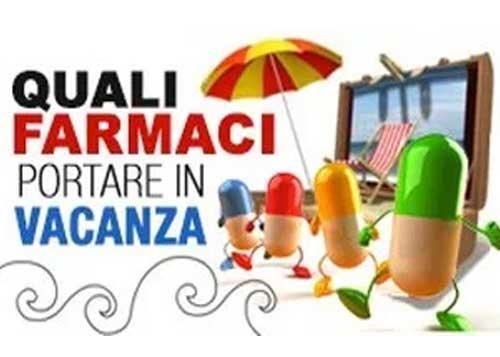 Farmaci da portare in vacanza