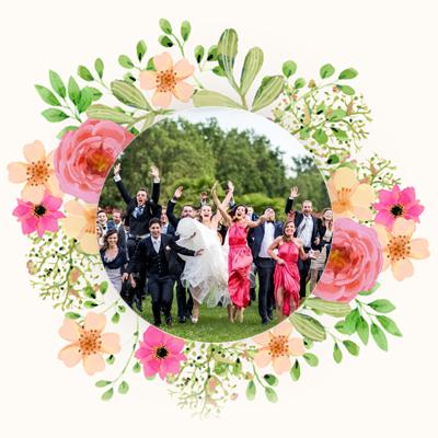 Servizio fotografico Flash mob sposi