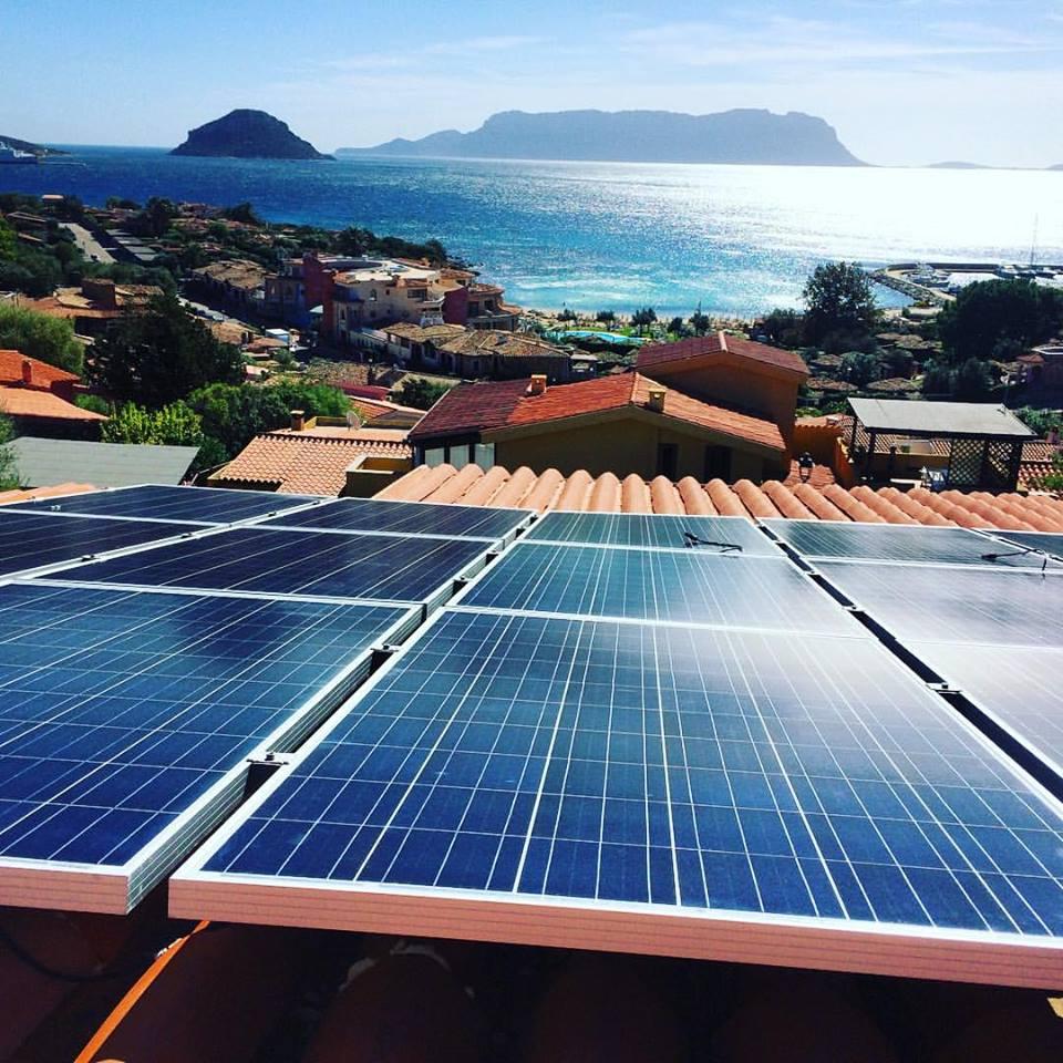 impianti ad energie rinnovabili Costa Smeralda