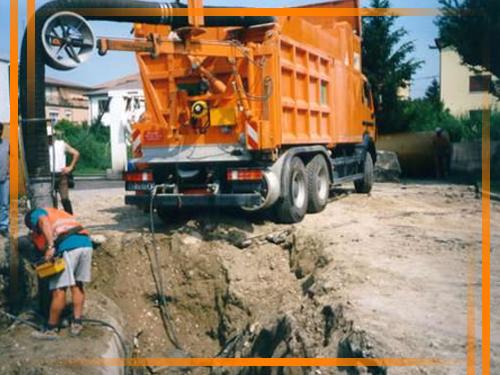 disostruzione condotti fognari roma