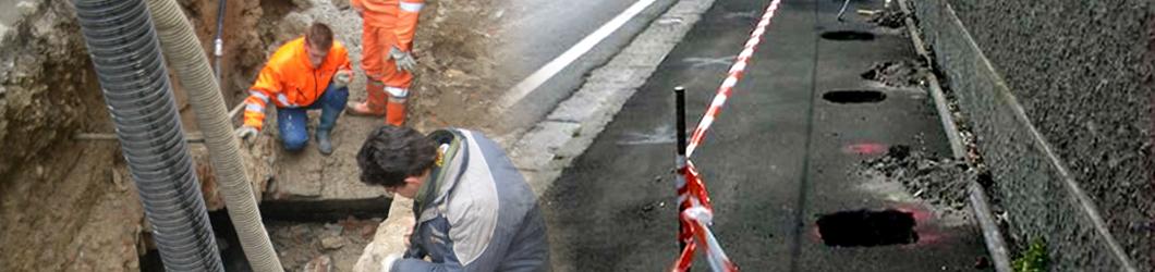 scavi stradali roma