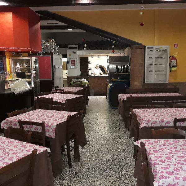 Tavoli pizzeria