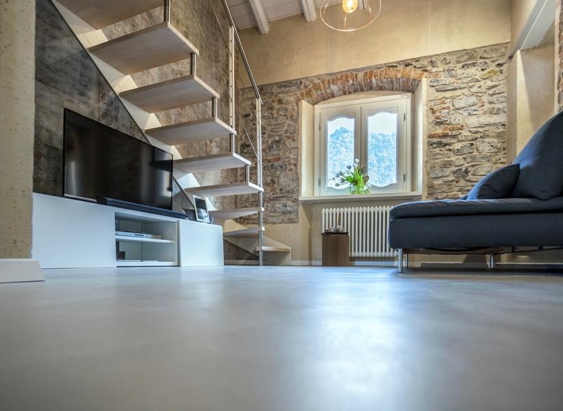 Progettazione e posa in opera pavimenti in resina e microcemento Napoli