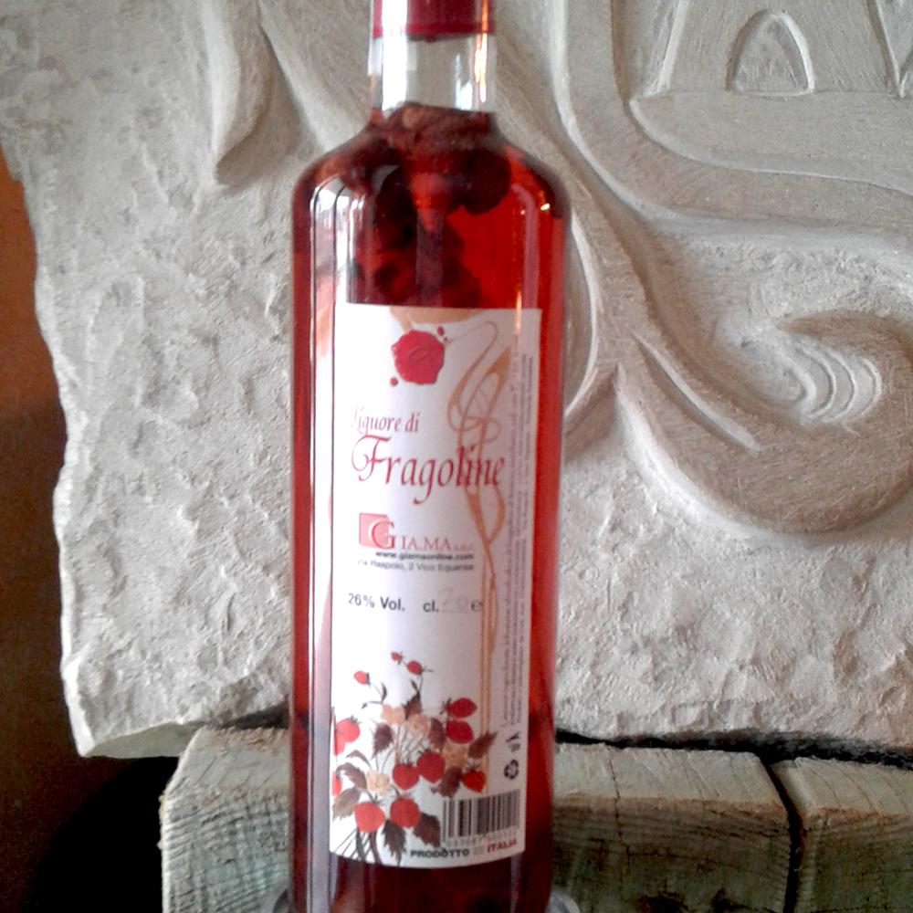 Liquore di fragoline Santa Maria Nuova Ancona