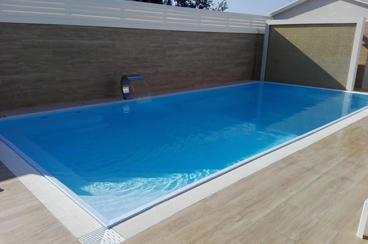 realizzazione piscina interrata quadrangolare