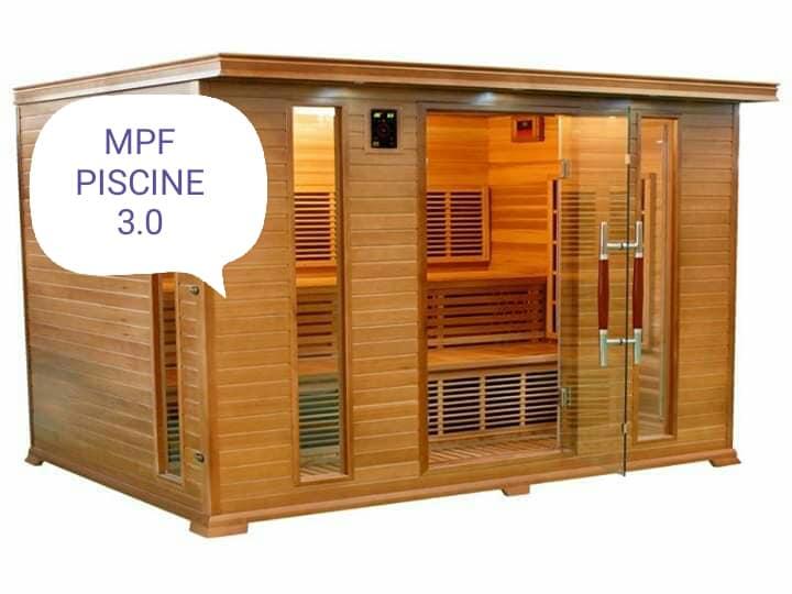 Progettazione saune MPF Piscine 3.0 Giugliano in Campania Napoli