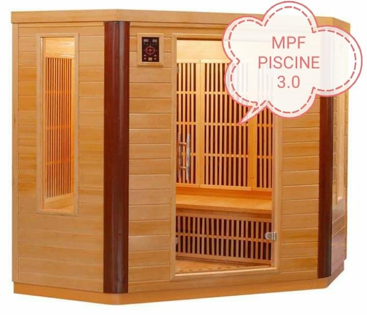 Sauna realizzata su misura
