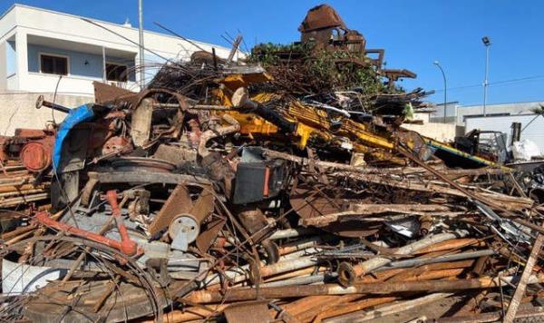 Ritiro materiali ferrosi a domicilio Melissano Lecce