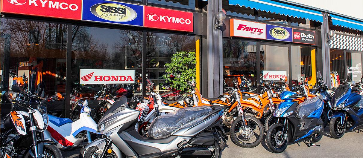Concessionaria moto e scooter a Crema