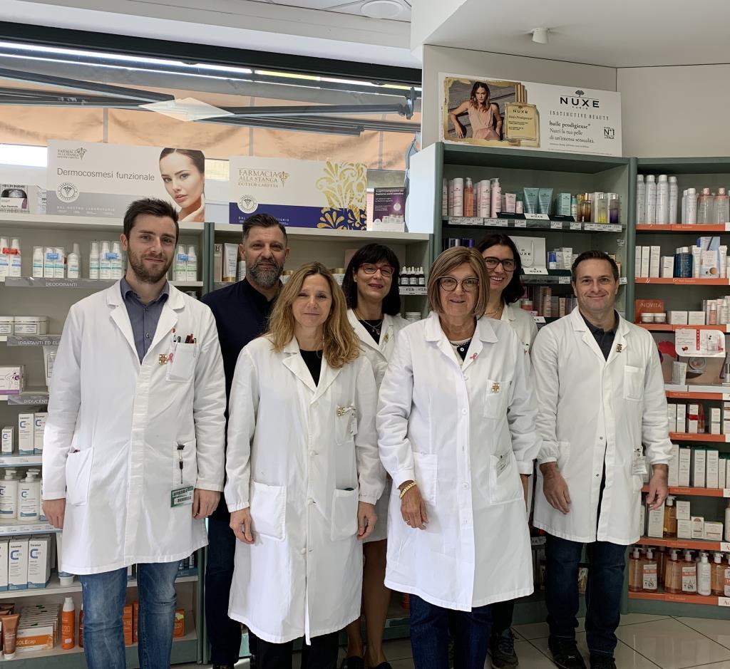 Lo staff: Farmacia Alla Stanga Dr. Caretta