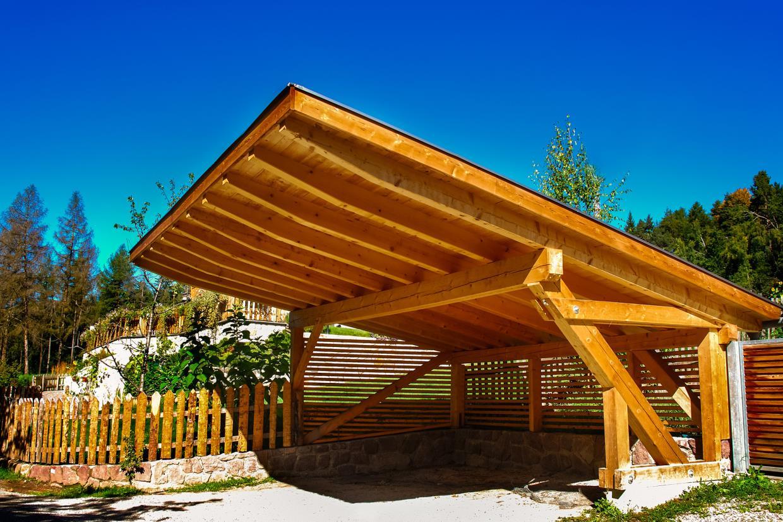 Verande con facciate in legno Viterbo