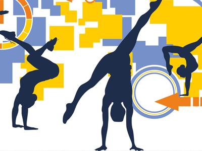 ginnastica artistica maschile e femminile,