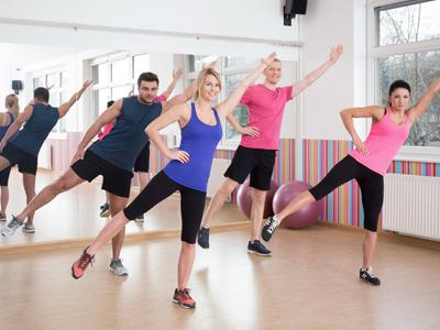 ginnastica aerobica-aero step-aero dance