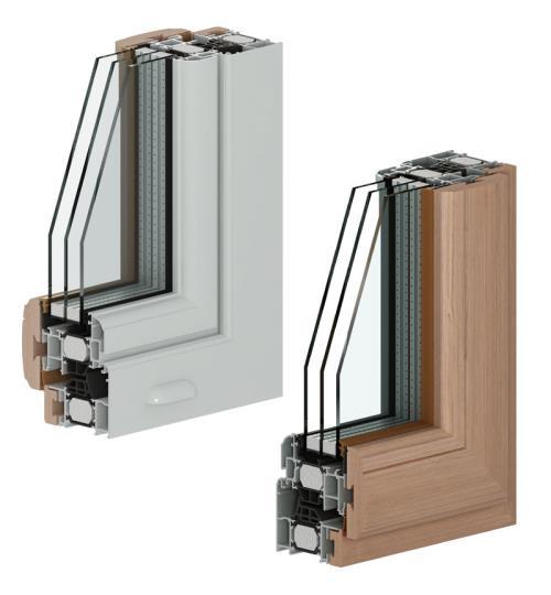 serramenti triplo vetro Crema
