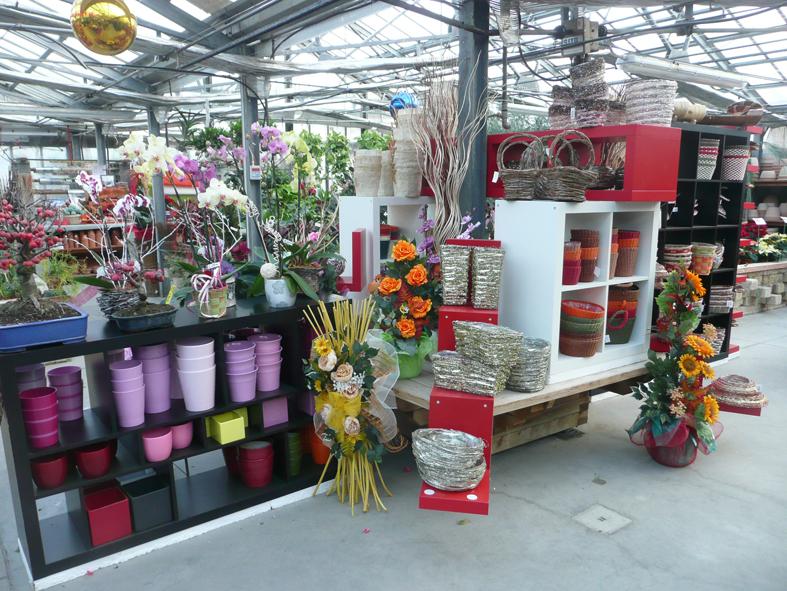 Vendita di piante e fiori