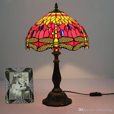 Lampada colorata Tiffany