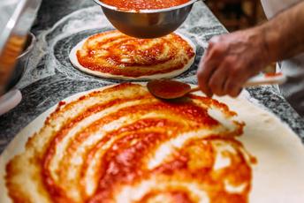 Realizzazione pizza