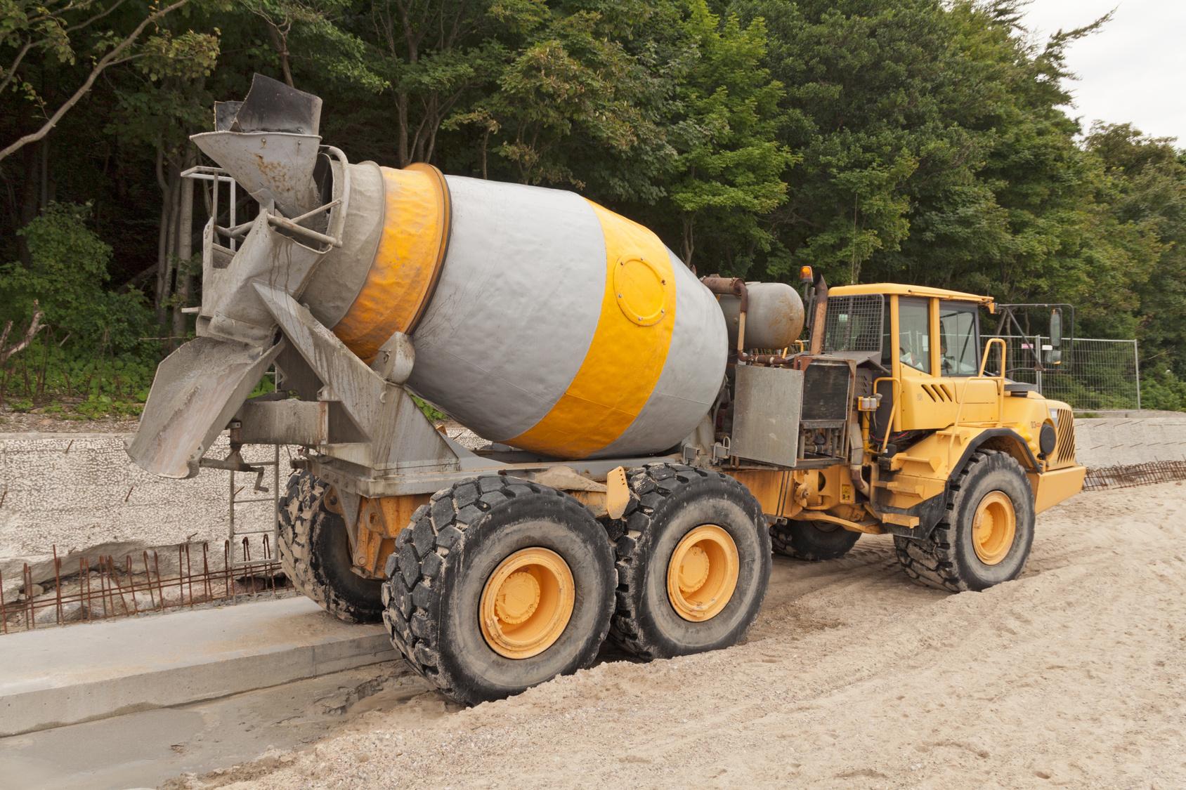 Produzione di calcestruzzo, estrazione inerti, sabbia e ghiaia