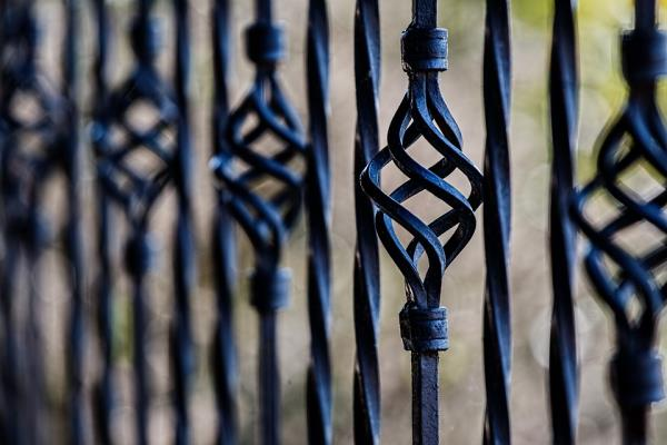 recinzioni artistiche in ferro battuto