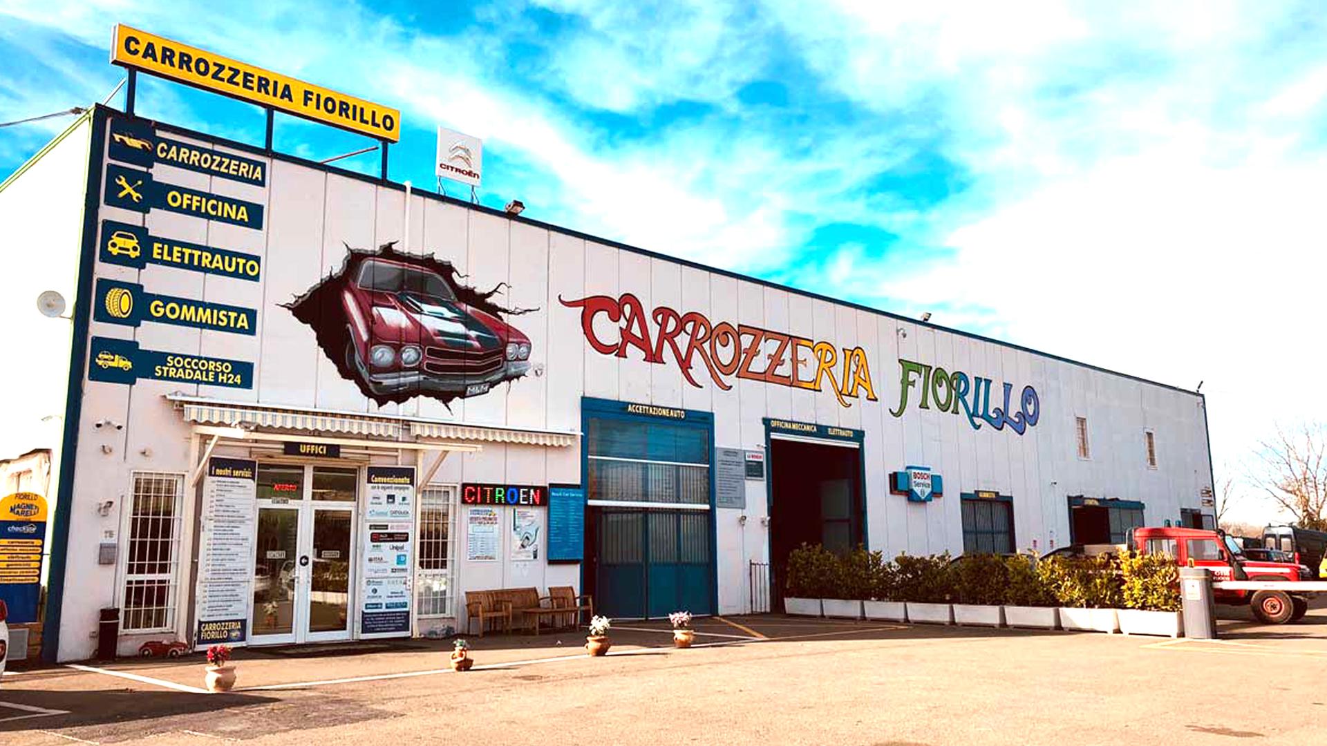Carrozzeria autorizzata Toyota Citroen Soccorso stradale ACI