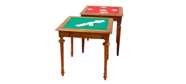 Tavolino da Gioco Bluff