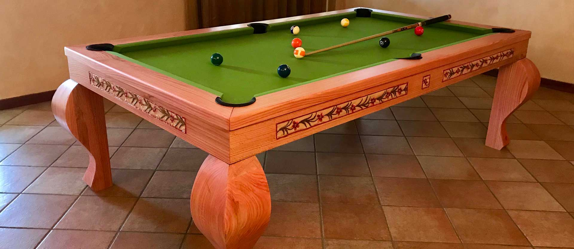Crafts Excellence billiard tables