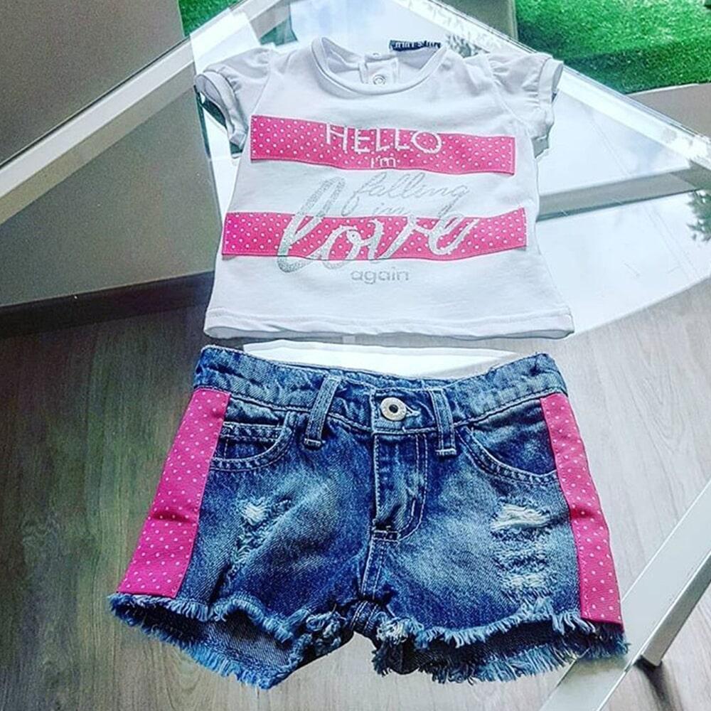 Shorts e T-shirt
