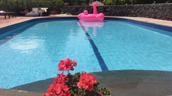 Villa con piscina in affitto Nicolosi Catania