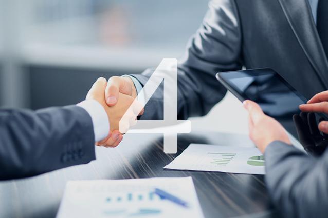 Presentazione dell'offerta e chiusura trattativa