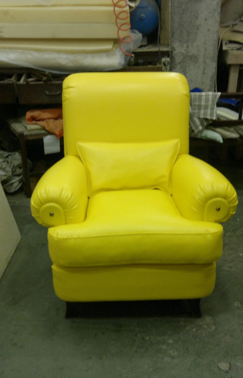 Poltrona gialla