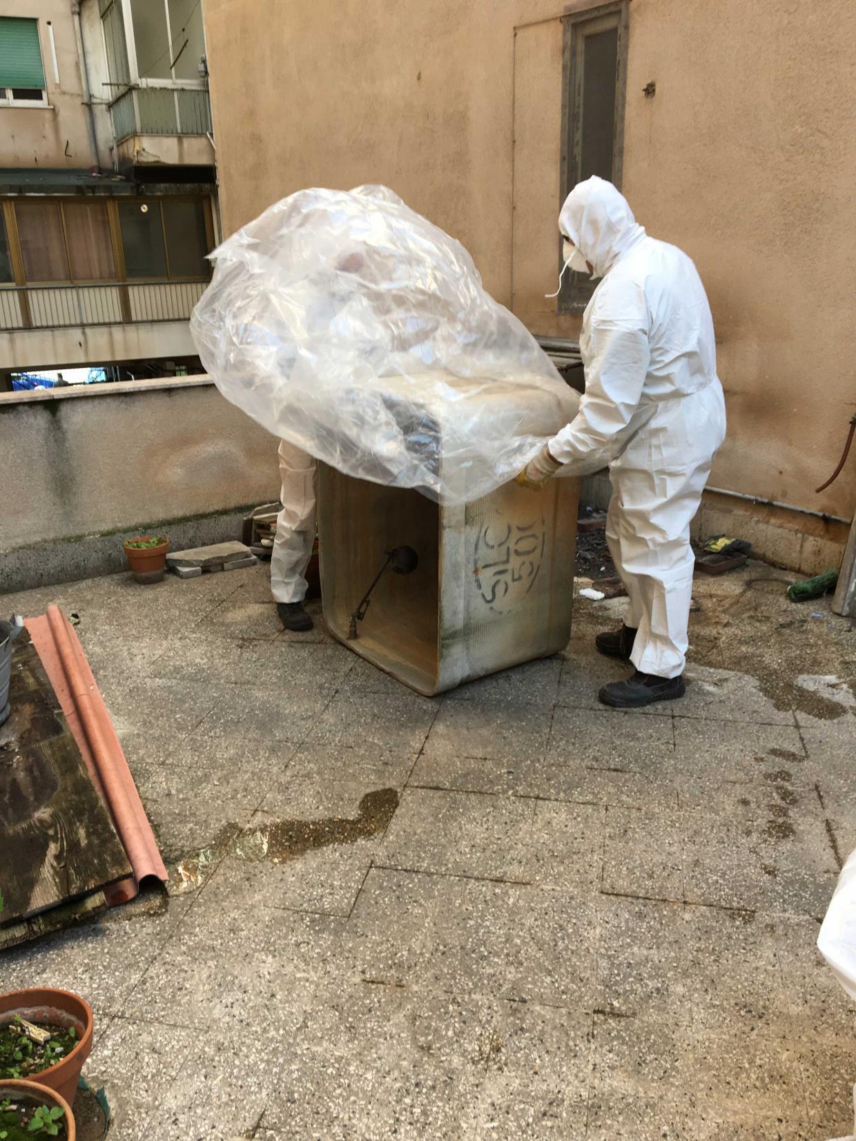 lavoro amianto