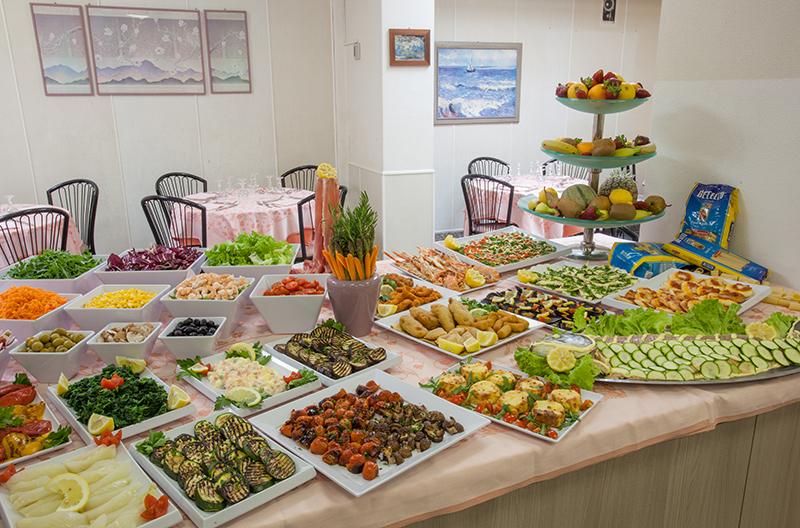 La cucina del ristorante senigallia