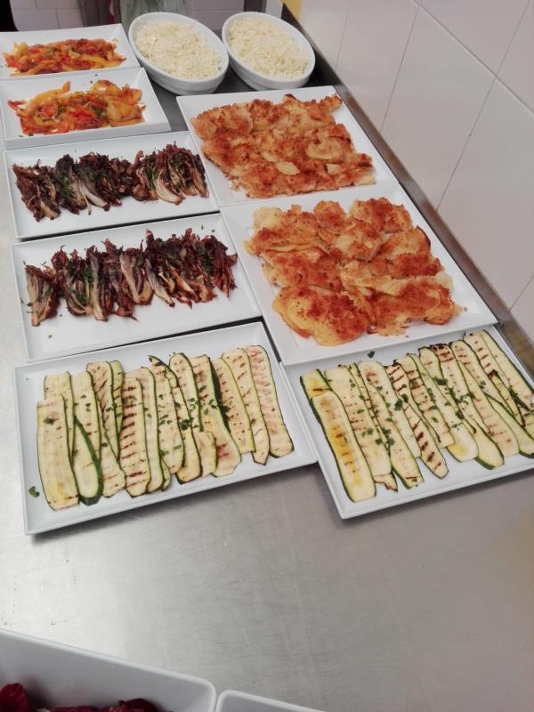 menu buffet ristorante
