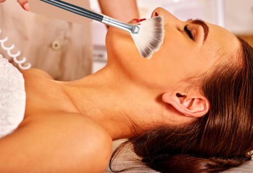 corso massaggio con i pennelli Salerno