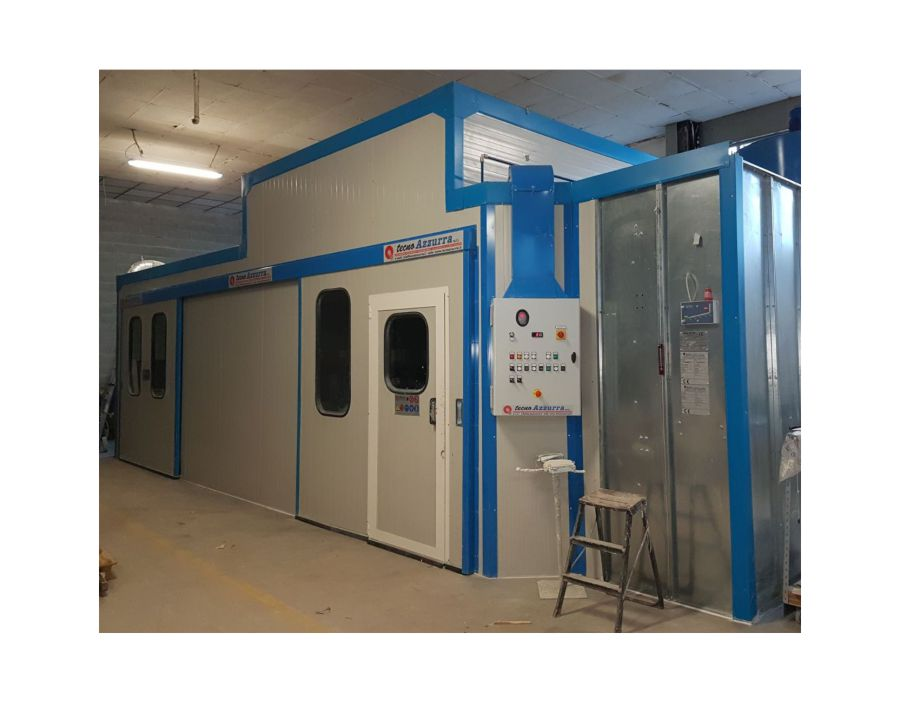 cabina pressurizzata per verniciatura Torino