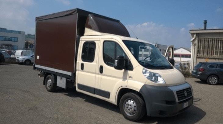 Teloni per camion e camioncini