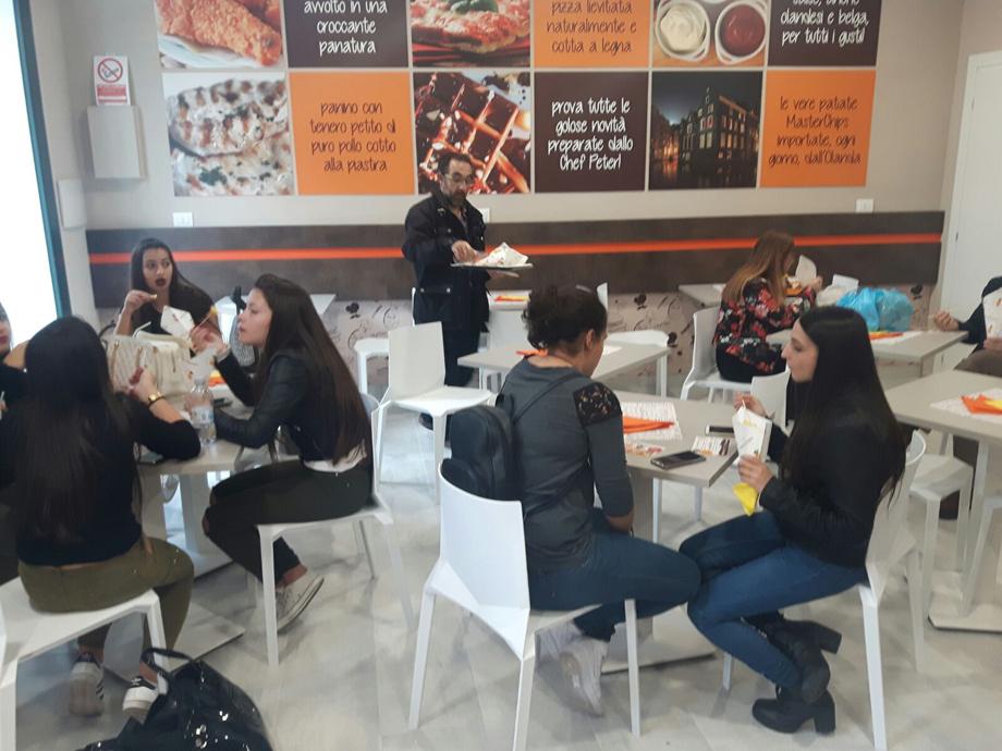 Interni fast food