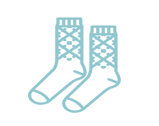 Man socks bs