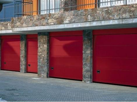 Porte garage sezionabili