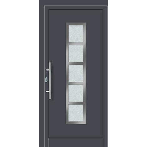 Porta ingresso in alluminio