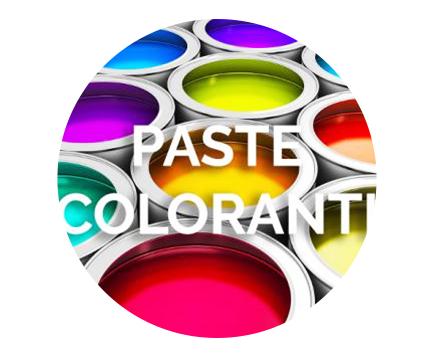 Vendita di paste coloranti