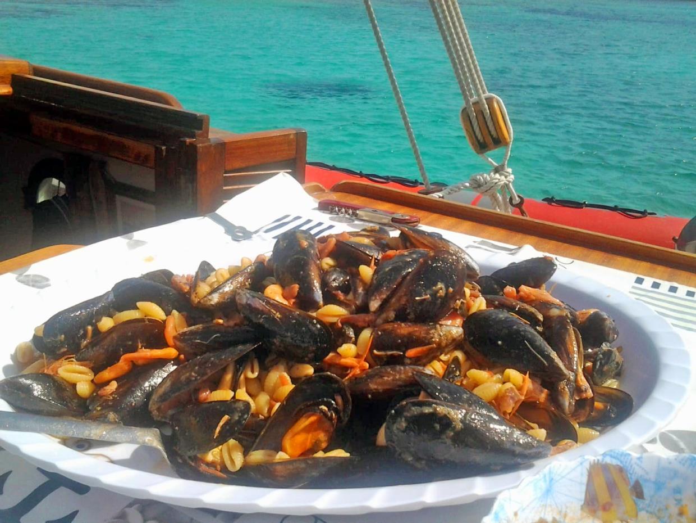 gite in barca con pranzo Sardegna