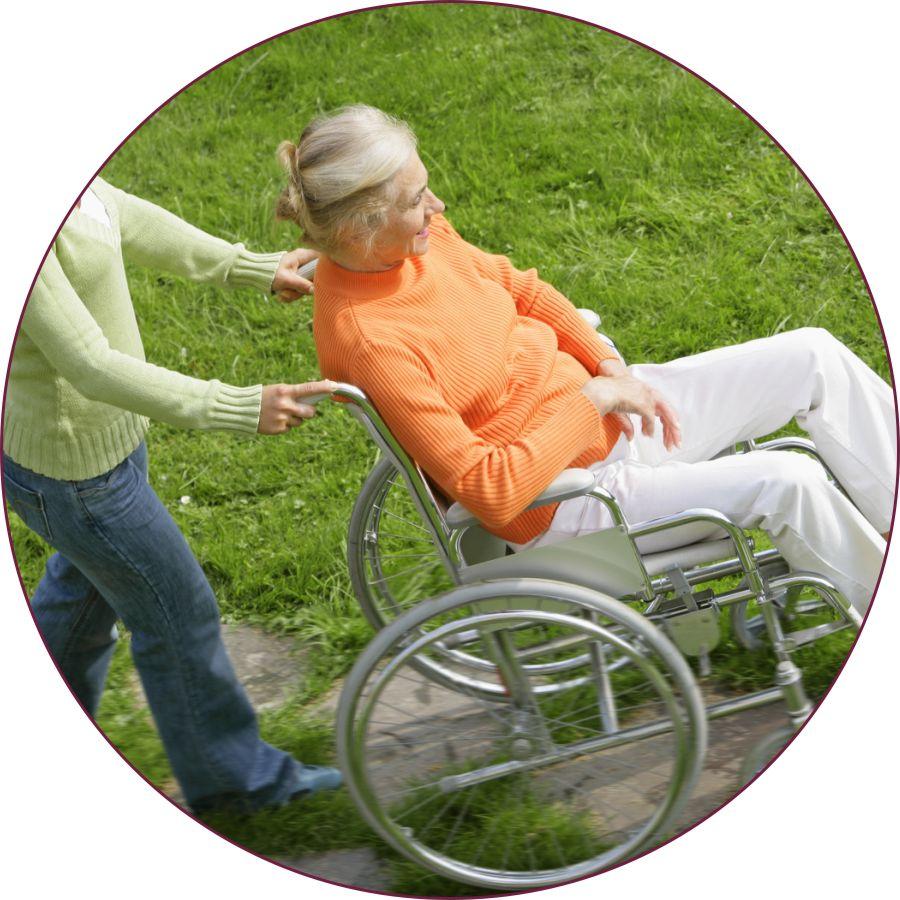 sedie a rotelle in comodato Vittoria Ragusa