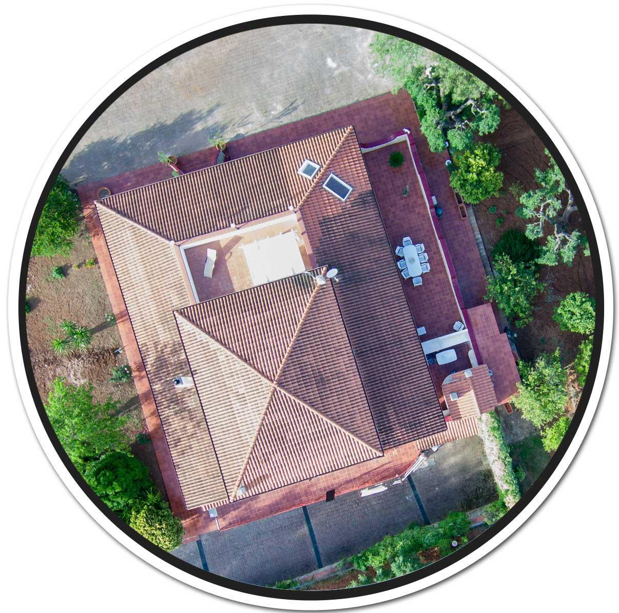 la struttura della villa relais