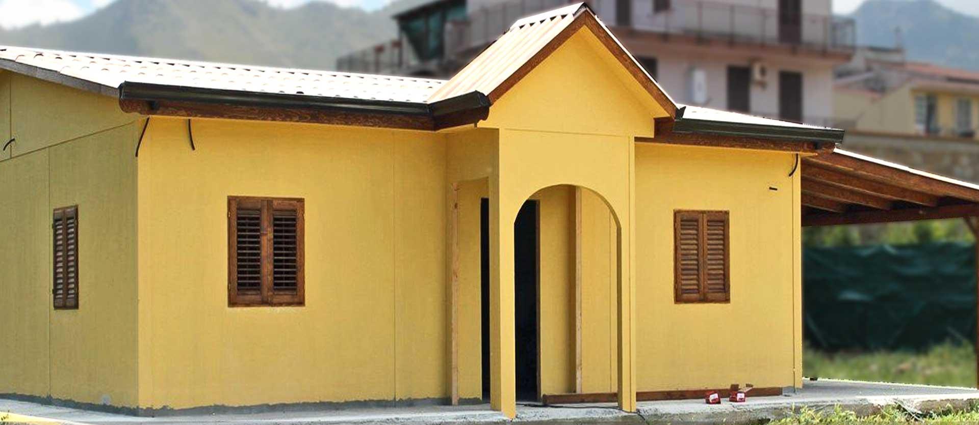 Case in legno per civile abitazione