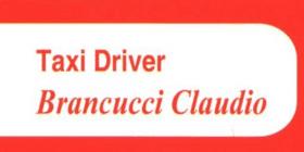Taxi Driver Brancucci Claudio Modena
